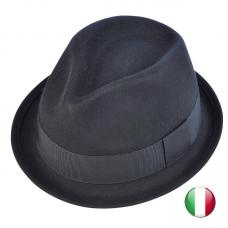 fedora hat turnup brim