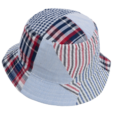 child bucket-hat patchwork