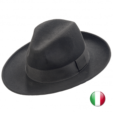 man wool felt hat