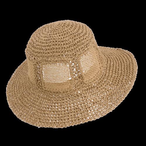woman's paper hat