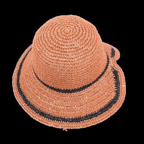 woman paper hat