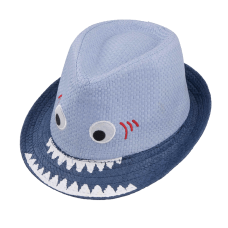 shark fedora hat child