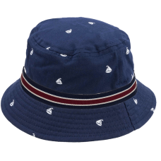 child bucket-hat sail boat printed