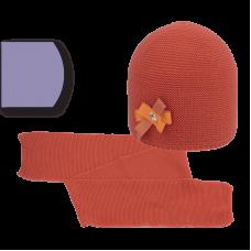 2 pcs. set hat+scarf