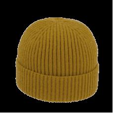 woman knitted beanie