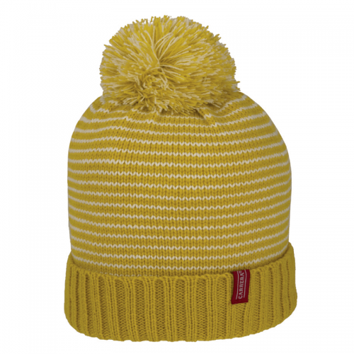 striped bonnet ponpon
