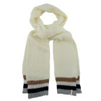 scarf lurex edge