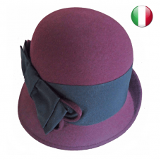 bucket fedora hat bow